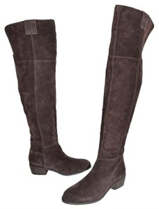 Sam Edelman Over The Knee Tall Boot CHOCOLATE SUEDE Boots