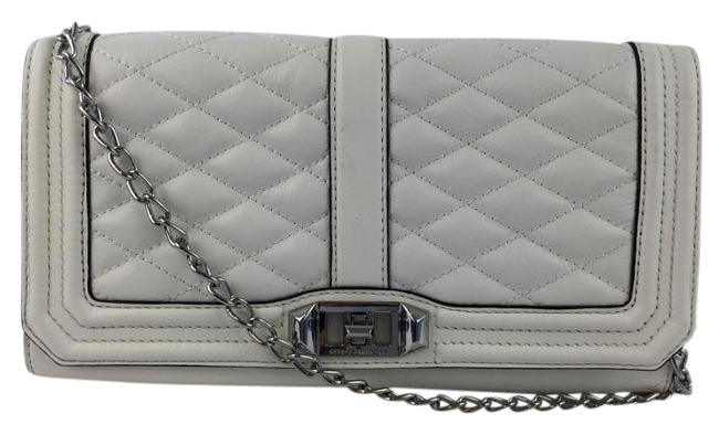 Item - Love White Leather Clutch
