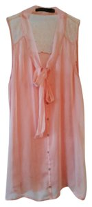 The Limited Chic Lace Sleeveless Top Pink