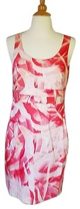 Ann Taylor Midi Floral Sleeveless Dress