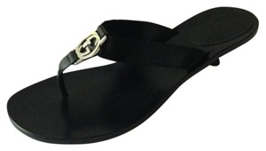 Gucci Kitten Heel Black Sandals