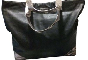 Jimmy Choo Tote in Black And Metallic