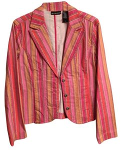 DKNY Pinks and orange Womens Jean Jacket