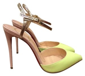 Christian Louboutin Rivierina Neon yellow Pumps