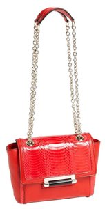 Diane von Furstenberg Dvf Snakeskin Cross Body Bag