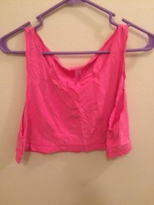 American Apparel Top Bright Pink