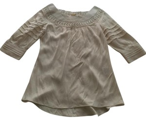 Elie Tahari Top Ivory/white