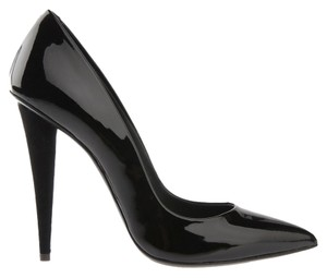 Giuseppe Zanotti Patent Leather Pump Stiletto Black Pumps