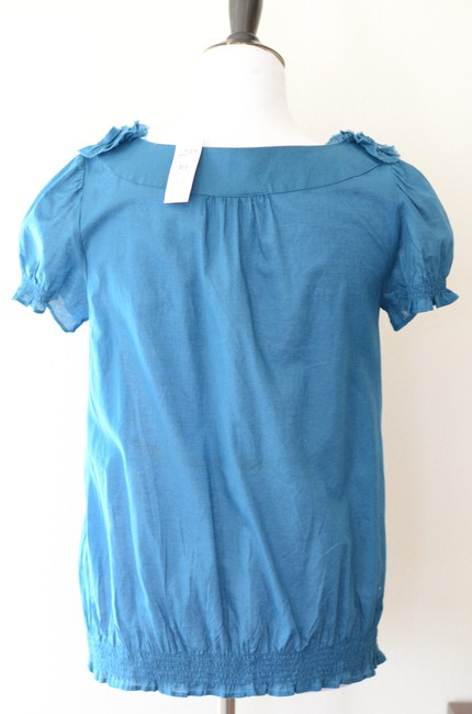 Ann Taylor LOFT Work Casual Top Teal