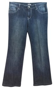 Evelyn Grace Blue Straight Leg Jeans-Medium Wash