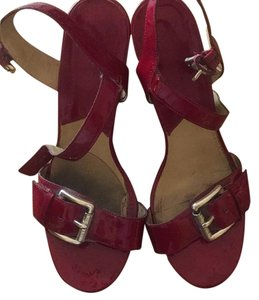 MICHAEL Michael Kors Red Wedges