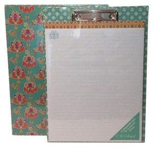 C.R. Gibson DECORATIVE CLIPBOARD PAPER PAD NEW