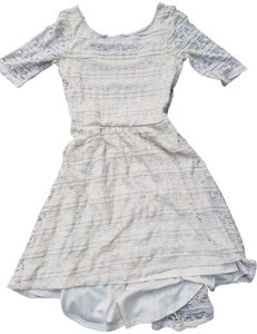 Forever 21 Day To Lace Elegant Dress