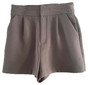 Forever 21 Dress Shorts Gray