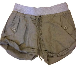 Splendid Cuffed Shorts Green