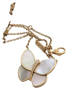 Van Cleef & Arpels Mother Of Pearl Butterfly Pendant