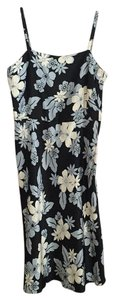Jones New York short dress Blue, cream on Tradesy