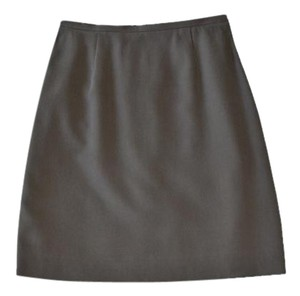 Banana Republic Silk Skirt brown/tan