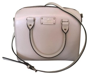 Kate Spade Satchel in Pearly White