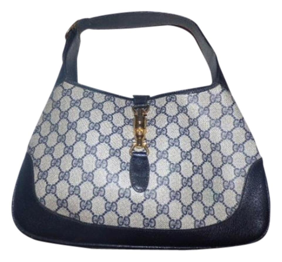9ee213792ac Attractive Gucci Vintage Purses Designer Purses Shades Of Blue Large G Logo  NM04