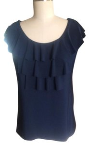 Claudia Richard Top Navy Blue
