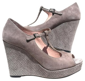 Vince Camuto Platform Wedge Taupe Wedges