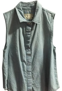 Rag & Bone Top Light blue