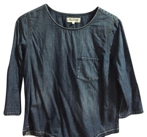 Madewell Top Dark wash