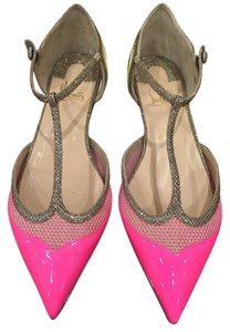 Christian Louboutin Mrs Early Mrsearly pink Flats