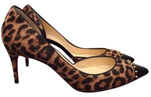 Christian Louboutin Culturella Pony brown Pumps