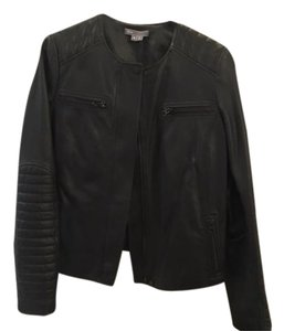 Vince Moto Motorcycle Leather Leather Jacket