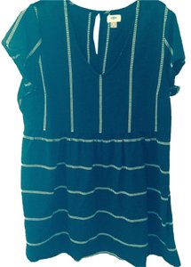 Old Navy short dress Black and White Striped on Tradesy