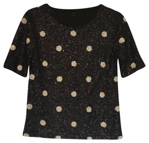 Juicy Couture Button Down Shirt Black, pink