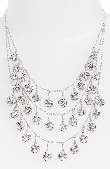 Preload https://img-static.tradesy.com/item/1747566/kate-spade-silver-rhodium-plated-with-glass-crystals-lady-marmalade-triple-strand-statement-necklace-0-0-540-540.jpg