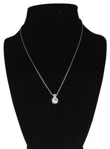 Swarovski Swarovski Crystal Two Zirconia Necklace