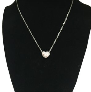 Swarovski Swarovski Paved Heart Necklace