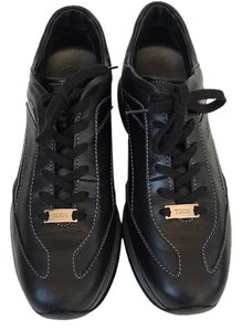 Tod's Atheletic Leather Black Athletic