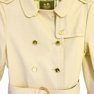 Coach Trench New Gold Hardware Trench Coat