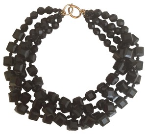 Other 4 Strand Black Bead Choker