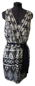 Francesca's short dress Multicolored V-neck Wrap Summer Tribal Sash on Tradesy