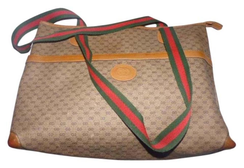 c47cf964b604e9 Gucci Tote With Red And Green Strap | Stanford Center for ...