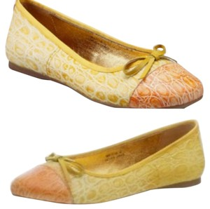 N.Y.L.A. Yellow/Orange Flats