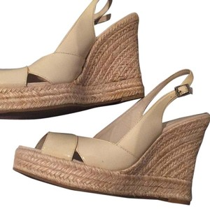 Banana Republic Cream Wedges