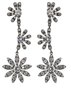 Kenneth Jay Lane Kenneth Jay Lane Cascading Floral Earrings,