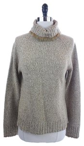 Laundry by Shelli Segal Fabulous Rabbit Fur Turtleneck Sweater