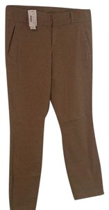 J.Crew Straight Pants Tan