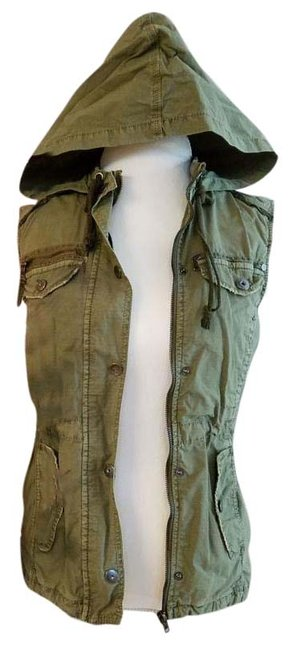Item - Khaki Sleeveless Nwot Jacket Size OS (one size)