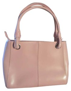 Wilsons Leather Purse Tote in pink