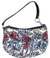 Coach Black/white/floral Clutch