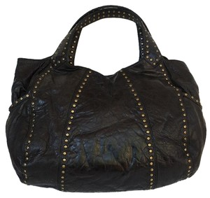 Kooba Studded Stressed Hobo Bag
